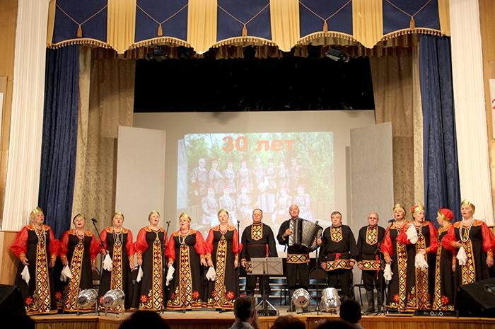 Юбилейный концерт коллектива «Лучинушка»
