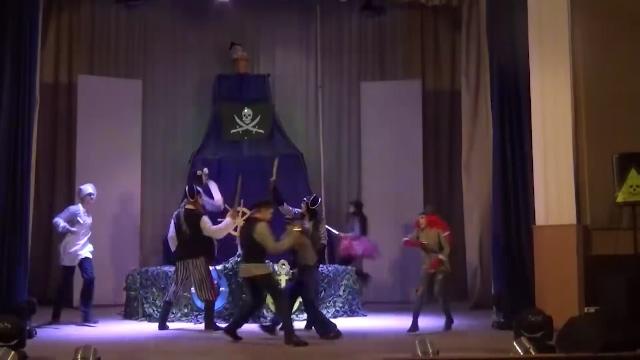 """Спектакль """"Веселый Роджер"""" покажут на большой сцене"""
